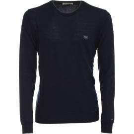 Nero Giardini crew neck sweater man A670360U 200 Blue