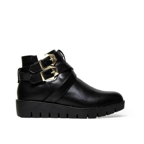 Kharisma Ankle Boots Woman 8090 soft savana black