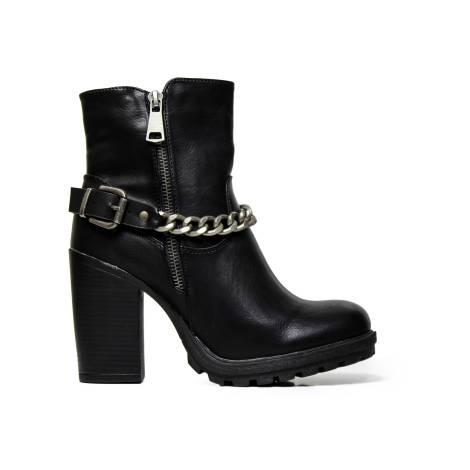 Kharisma Ankle Boots Woman 8343 Soft Black