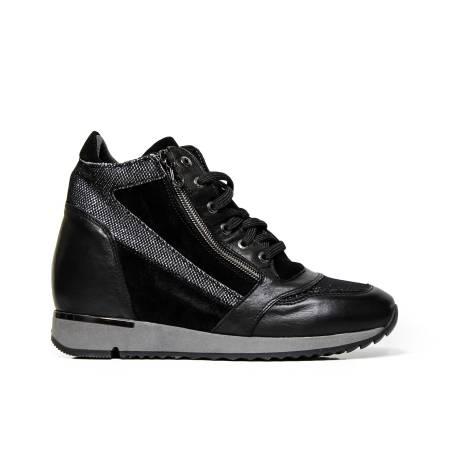 EXTON sneakers woman 1923 havana black