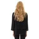 Sandro Ferrone knitted blouse woman C8 GAVINO AI17 black