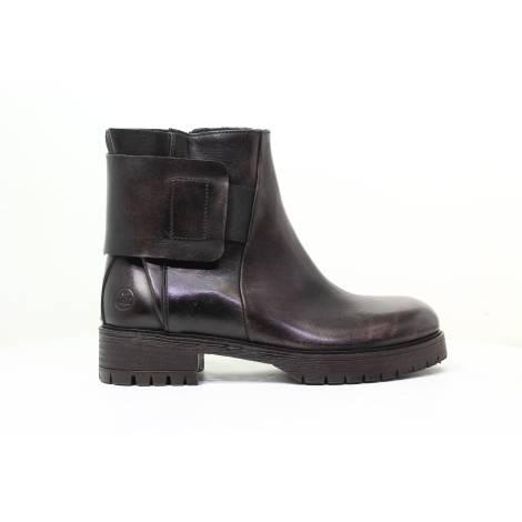 Braccialini Women High Heel Ankle Boots B347 Black