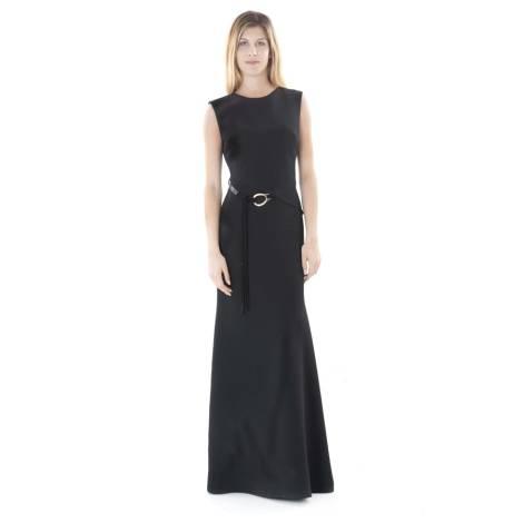 Sandro Ferrone Dress Woman C4 51604 AI17 BLACK