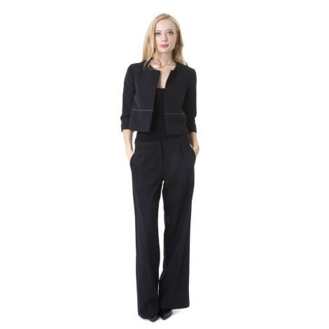 Sandro Ferrone Jacket Woman C25 1106 AI17 BLACK