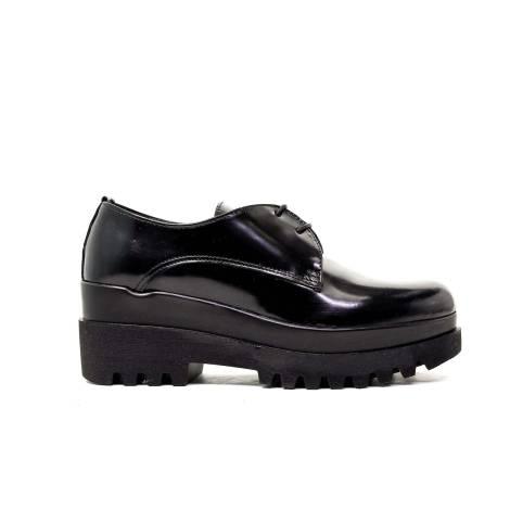 Marco Gozzi Ankle Boots Women Low Heel RT1505 Abrasivo Black