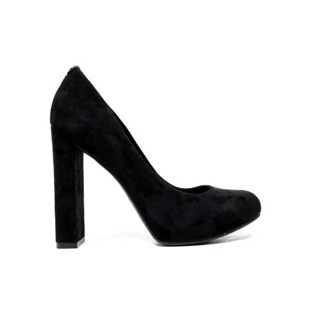 Guess Ankle Boot with high heel color Black Guess FLDNB4 LEA10