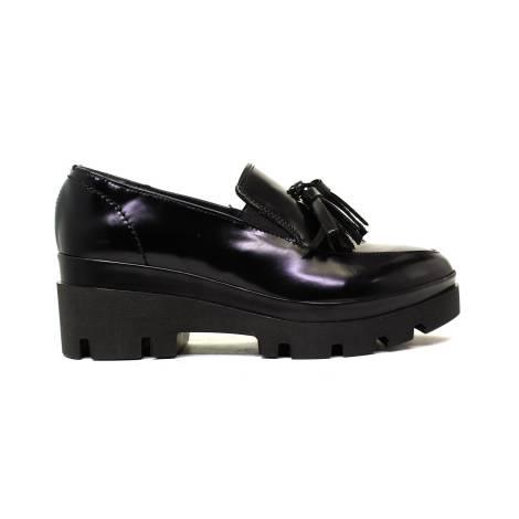 Gloria Grei Loafers Low Heel Woman GE80/V2 Black