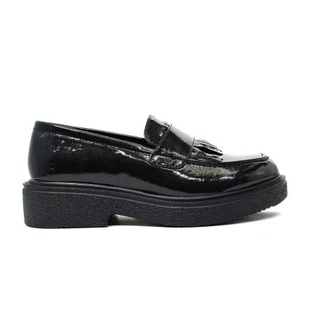 Francesco Milano Wingtip shoe Woman M027L-NEY NERO