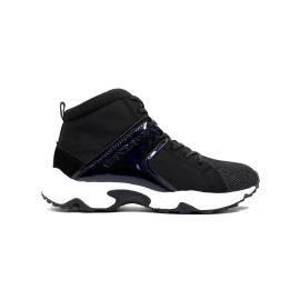 Versace Jeans E0VOBSD2 75396 M57 sneaker donna tacco basso colore nero glitter