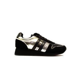 Versace Jeans E0VOBSB1 75335 M27 sneaker donna tacco basso colore nero oro