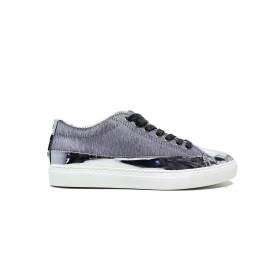 Blauer 6FWOCUPTOE/EQU/L LIGHT GREY sneakers donna tacco basso