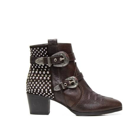 Albano ankle boots 6204 goat brown