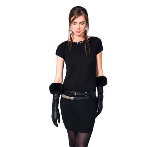 EDAS malago dress black