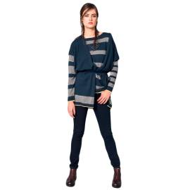 EDAS jacomo-5 jeans blu donna, in cotone, poliuretano ed elastano
