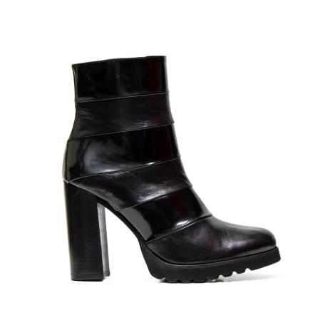 Bacta de Toi ankle boots 5424 tr vitello leather black