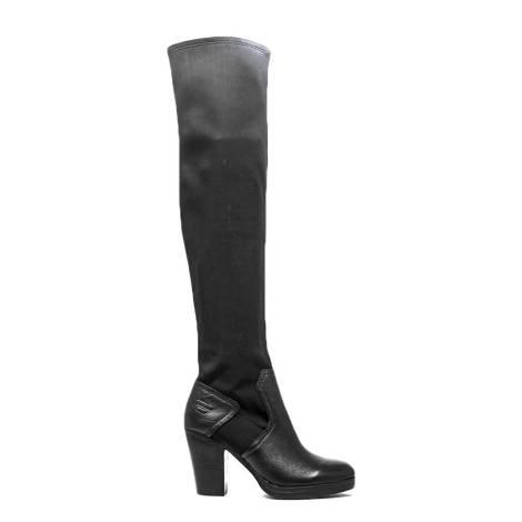 Fornarina wedged sneakers black article PIFMJ9543WVA0000 NERO METI-BLACK