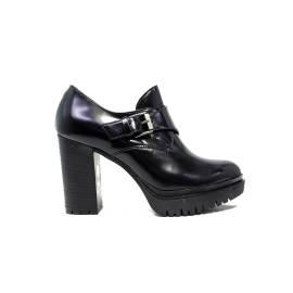 Janet Sport tronchetto donna con tacco alto 38928 scarpa lego nero/nero f 780