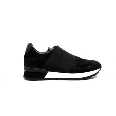 Janet Sport sneakers donna con tacco basso 38800 scarpa diablo nero/nero f 265