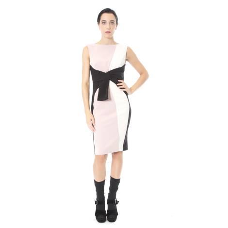 3f7abb2148c0d sandro-ferrone-abito-donna-c18-cusio-ai17-in-poliestere-ed-elastano-color- rosa-e-nero-con-fusciacca-.jpg