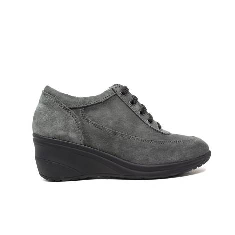 Only I woman wedge sneakers average 4265 gray suede