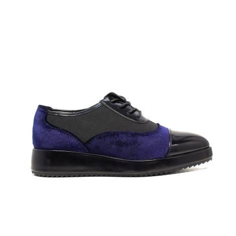 Luciano Baracchini brogues woman low heel 7183A Black