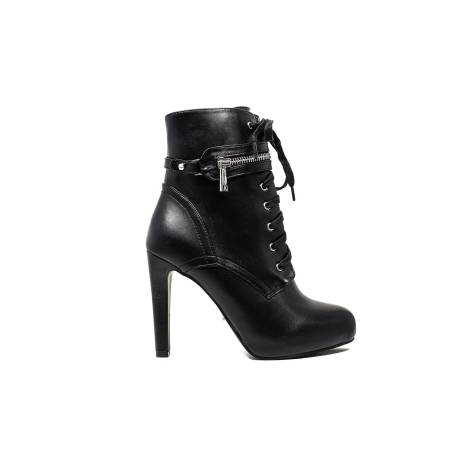 Gaudi ankle woman with high heels Black V64-64807