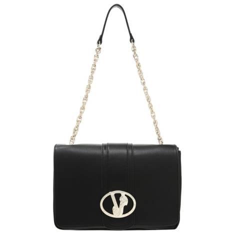 Fornarina Women s bag AIFBAU086UTA0000 aura-black fabric bag 71e5cab880c35