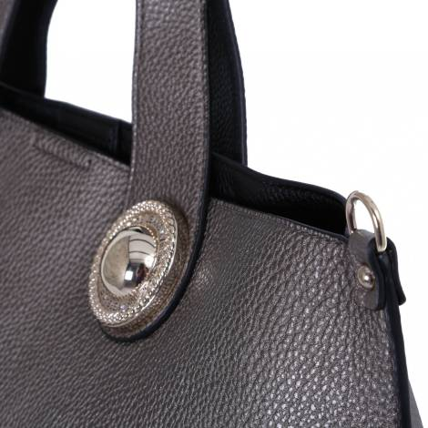 Versace Jeans Woman Bag E1VOBBD6 75321 M92 grana cervo embossata 7216555b3baba