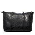 Versace Jeans borsa donna nero E1VOBBI9 75571 899 nappa embossata
