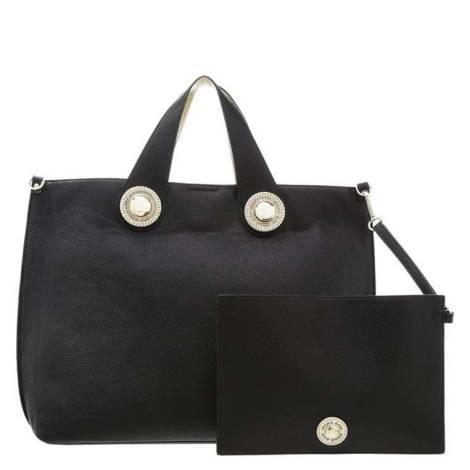 Versace Jeans borsa donna nero E1VOBBD6 75321 M27 grana cervo embossata