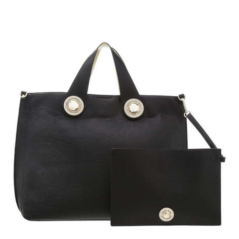 Versace Jeans Woman Bag Black E1VOBBD6 75321 M27 grana cervo embossata e2e9b6b1988f2