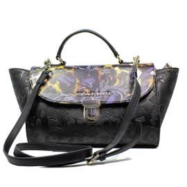 Versace Jeans borsa donna nero E1VOBBI1 75352 899 nappa embossata stampata