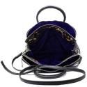 Versace Jeans Woman Bag Black E1VOBBI1 75352 899 nappa embossata stampata