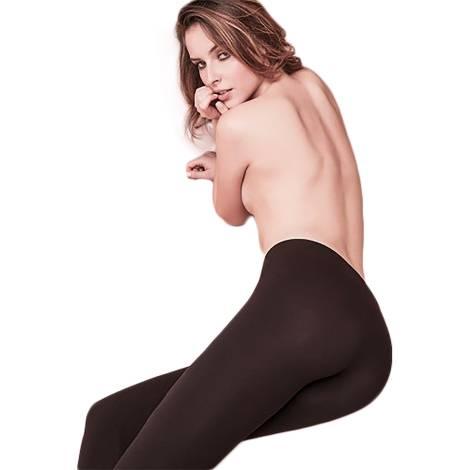 Philippe Matignon leggings donna A012257 PM NERO color nero in poliammide, cotone ed elastano