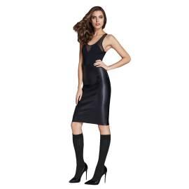 OMSA gambaletto moda donna 3513 color nero con texture floreale