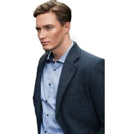 BLOOKER giacca uomo GI14-16W BLU in acrilica, poliestere e lana