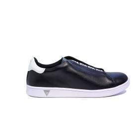Guess sneaker basso nero modello steffi articolo FLSTE1 LEA12 BLACK