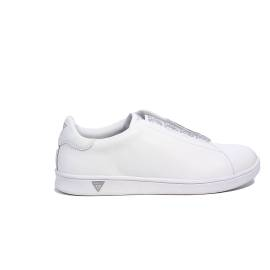 Guess sneaker basso bianco modello steffi articolo FLSTE1 LEA12 WHITE