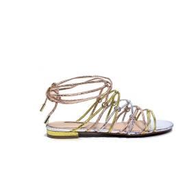 Guess sandalo basso multicolore articolo FLRHC1 PEL03