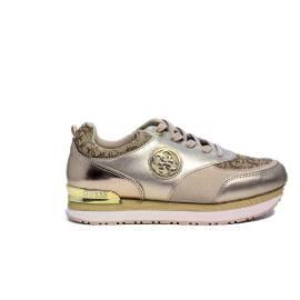 Guess sneaker beige stingato semi logata articolo FLRIM1 FAL12 BEIBR