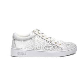 Guess sneakers bassa donna colore white FLGN1 LAC12 WHITE