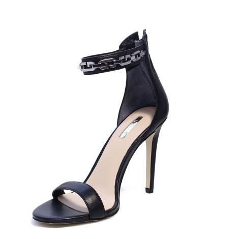 Black Alto Sandalo Nero Elegante Lea03 Guess Con Tacco Colore Flpri1 WE2DIeYb9H