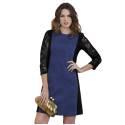 Massana abito donna E657266 color blu e nero