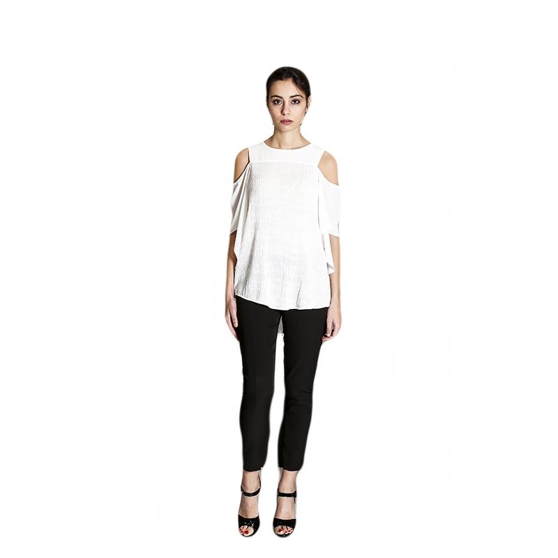 Sandro Ferrone camicia donna C18 PALLADIO PE17 color bianco 7096662e8cb