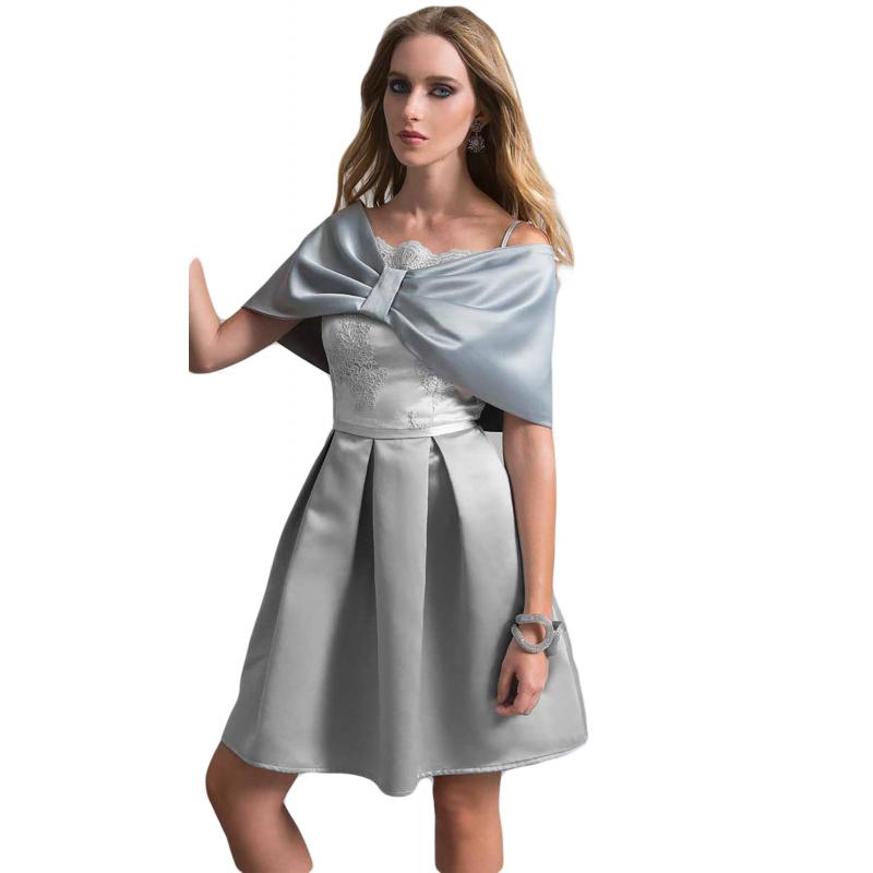 vendita calda online f174b 52b8c EDAS Luxury hood Dassa duchesse plain gray