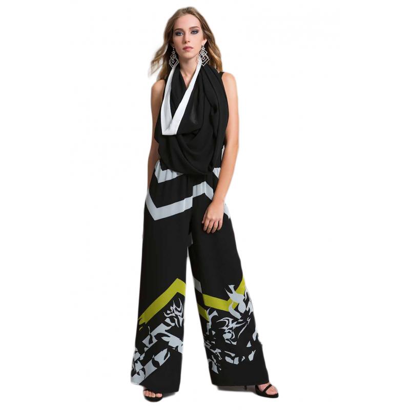 più economico d47a3 499f1 EDAS Luxury SUZUKO pantalone con stampa...