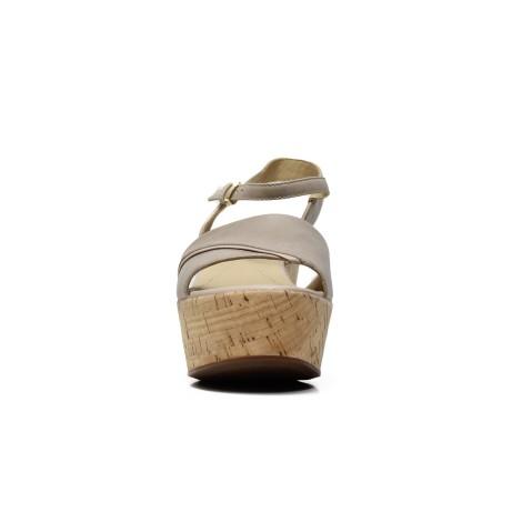 GEOX woman sandal D724VA 000LC C6738 color taupe 4a0516d3c74