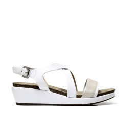 GEOX sandalo donna D72P6A 0BCSK C0007 color bianco
