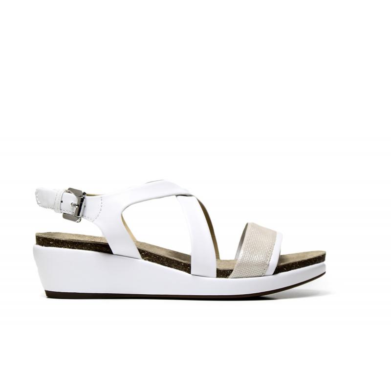 26b912027e651 GEOX woman sandal D72P6A 0BCSK C0007 color white