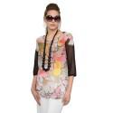 EDAS GUCCA FUXIA casacca donna multicolore in poliestere